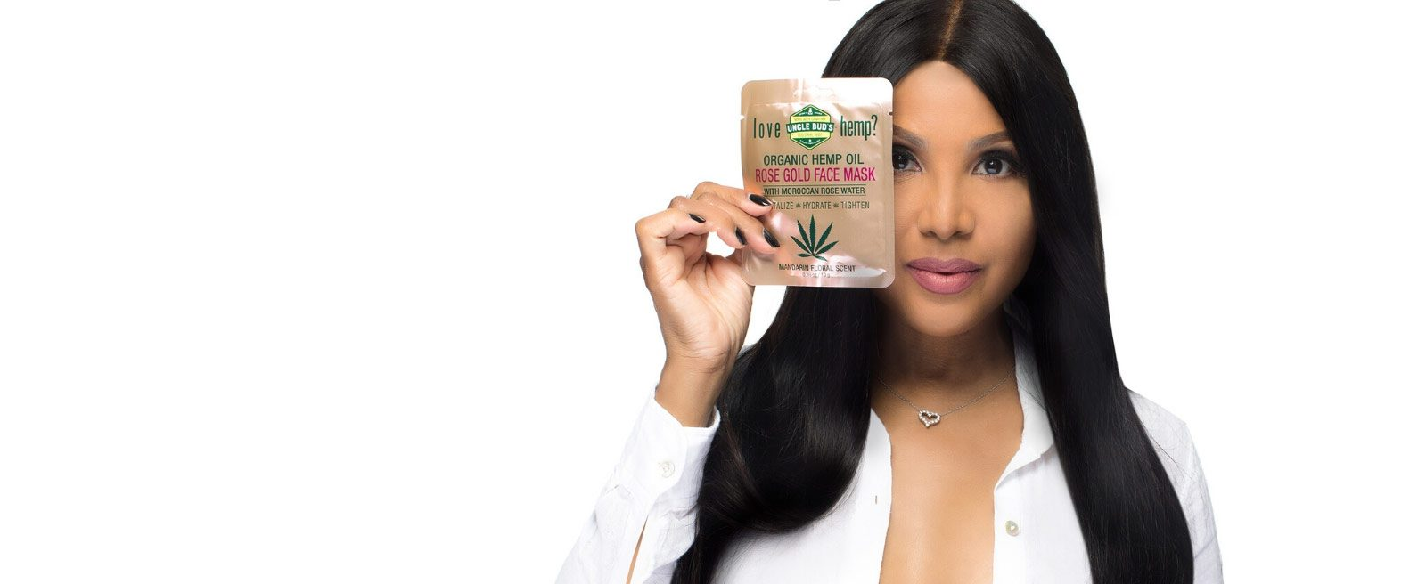 Toni Braxton Hemp Face Mask