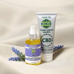 CBD for any occasion Lube Massage oil
