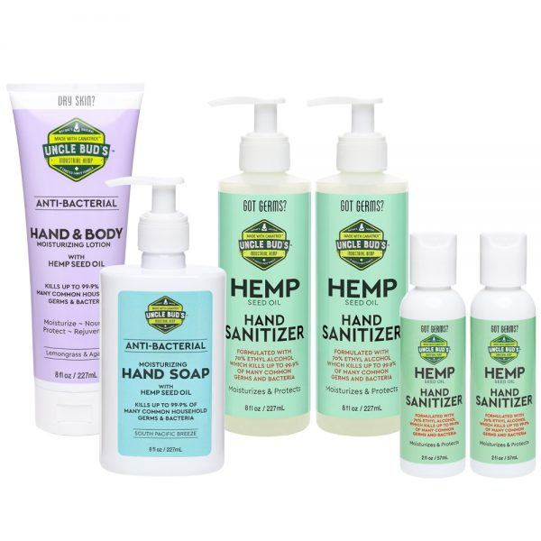 Hemp Clean Living Set