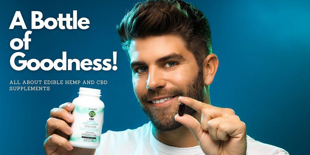 edible hemp and CBD supplements