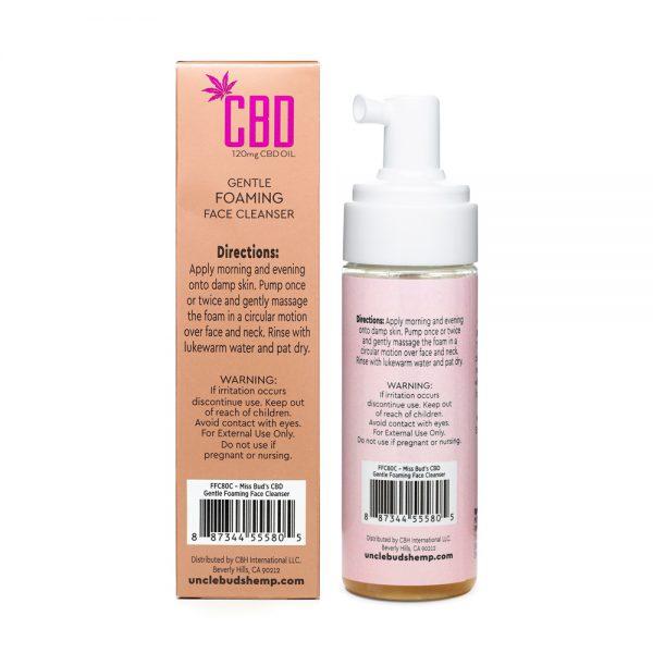 CBD Gentle Foaming Face Cleanser